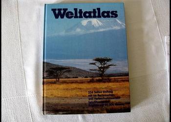 Weltatlas - piękne wydanie atlasu po niemiecku