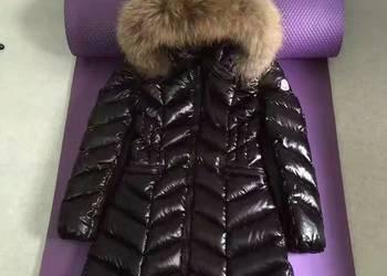 płaszcz puchowy damski moncler