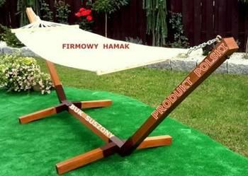 Stelaz na hamak producent z drewna twardego BUK JESION DĄB