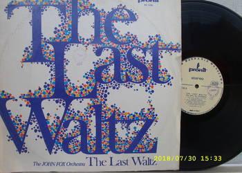 THE LAST WALTZ--JOHN FOX ORCHESTRA ;LP winyl.