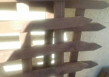 Drewniany płotek sztachetowy 1,00 m x 40 cm wysoki