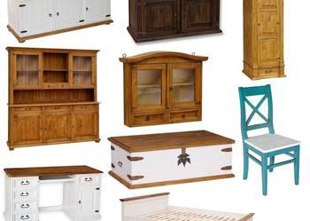 Drewniane Meble,Meble z Drewna, Łóżka, szafy, komody,