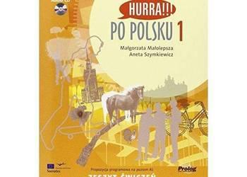 Hurra !!! Po polsku 1 Podręcznik + płyta CD