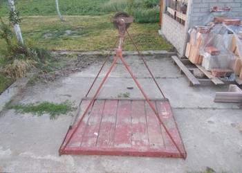 Platforma podest kosz do windy budowlanej winda wciągarka
