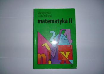 matematyka II - Bryński, Dróbka - WSiP Podręcznik