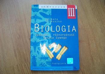 biologia 3 podręcznik używana, stan 5-