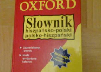Słownik hiszp-pol, pol-hiszp OXFORD