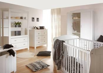 Białe meble Bellamy do pokoju dziecka kolekcja FINO Regał
