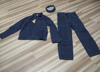 Stare ubranie robocze z Prl-u Nowe Bawełna