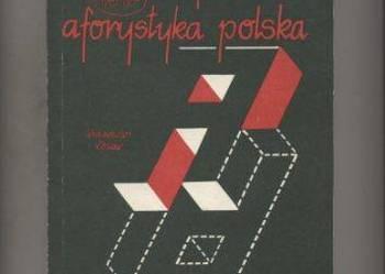 Współczesna aforystyka polska  Antologia 1945-1984