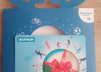 Decathlon karta podarunkowa
