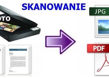 Skanowanie zdjęć i dokumentów oraz przegrywanie kaset VHS
