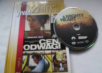 Film na DVD z książką ,,Cena Odwagi''