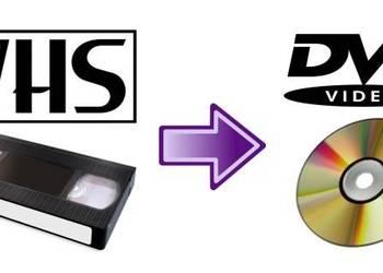 Przegrywanie kaset VHS na DVD, NTSC do PAL, skanowanie zdjęć
