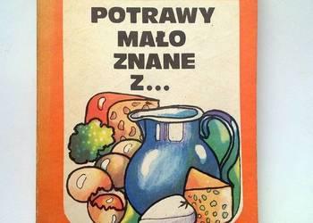 Książka kucharska. Potrawy z mleka, jaj i serów.