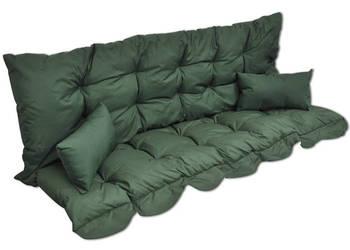 Poduszki na huśtawkę ogrodową, zielone 40959