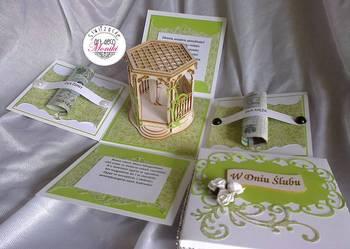 Pudełko prezent na ślub pamiątka ślubna