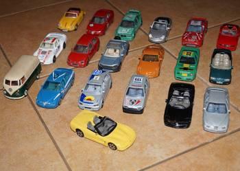 Modele Burago oraz innych firm zabawki auta autka samochodzi