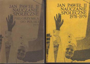 (01636) JAN PAWEŁ II 2 TOMY PIELGRZYMKA DO POLSKI 1979 * NAU