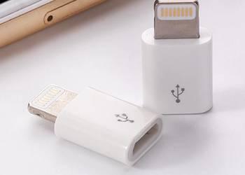 Adapter iPhone przejściówka micro usb