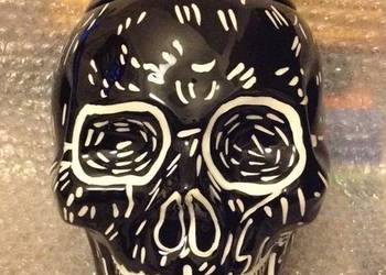 Czaszka pojemnik na ciastka, skull