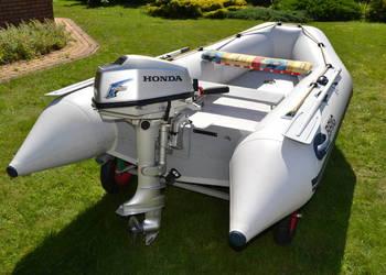 Ponton BRIG D330 z silnikiem HONDA BF 5A