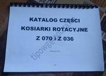 Katalog części kosiarka rotacyjna polska Słupsk z070 z036