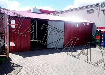 Garaż blaszany / PROFIL / garaże / garaz / hala / wiata
