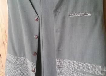 179f9c590e145 GARNITUR, 3 części, spodnie, marynarka, kamizelka