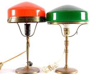 PRZEPIĘKNE LAMPY GABINETOWE SECESJA !!!!