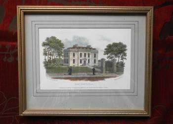 Stara Angieska ricina z 1820 r.The HOSPITAL autor R.HARRA