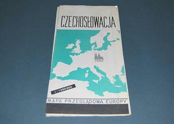 Czechosłowacja Mapa Wyd z 1965r Starocia