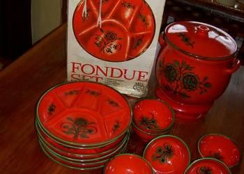 Zestaw Fondue 6-ścio częściowy ozdoba i nie tylko