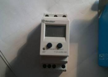 przekaźnik finder, programowalny - prąd i czas  10A ; 250V~