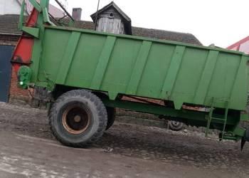 Rozrzutnik obornika Coutand 10 ton