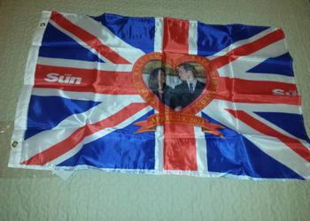Flaga Kate Middleton William