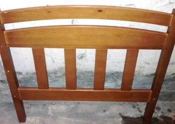 Obudowa łóżka dla dziecka z drewna sosna lakierowana 2 szt