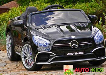 Mercedes Lakierowany SL65 Ekran LCD 2X45W Akumulator 12V WAW