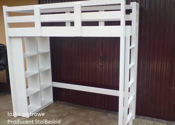 łóżko lozka piętrowe antresola z regałem łóżka lozko na sprzedaż  Bielsko-Biała