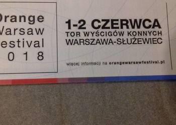 1 karnet na 2 dni Orange Warsaw Festival OWF