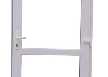 drzwi zewnętrzne PCV białe, okazja !!!