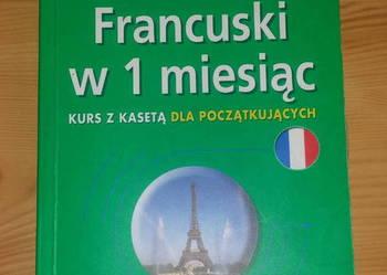 Francuski w 1 miesiąc dla początkujących z płytą PONS