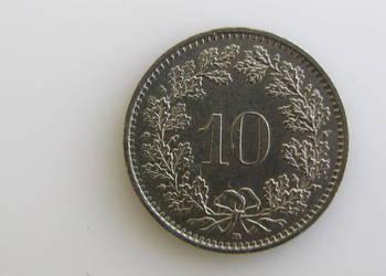 Moneta10 rappenów 1994 ( Szwajcaria )