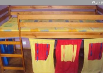 Łóżko piętrowe + biurko