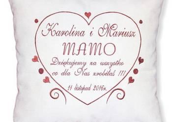 Prezent dla MAMY Poduszka na Dzień Matki Podziękowanie Ślub