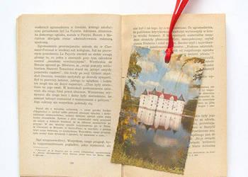 zamek zakładka do książki, zakładka z zamkiem, fajna zakładk