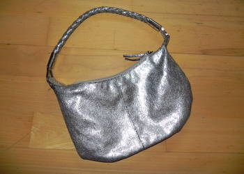 New Look mała brokatowa torebka