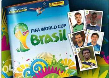PANINI naklejki do albumu FIFA WORLD CUP BRASIL 2014