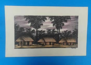 3. Wykonawca - Artysta - MWAMBA - Oryginalny rysunek z Zambi
