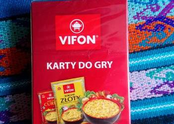 Karty do gry Vifon Nowe zafoliowane